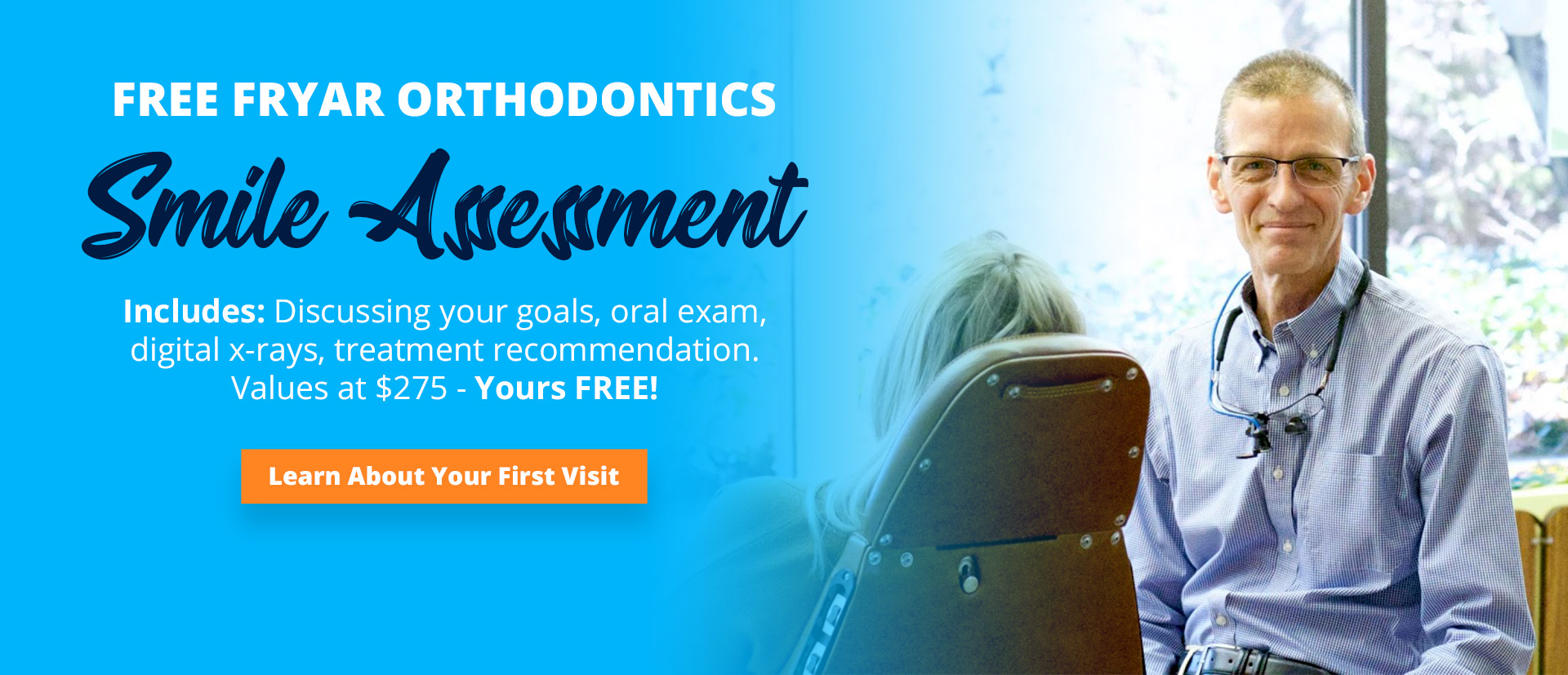 free fryars orthodontic assessment